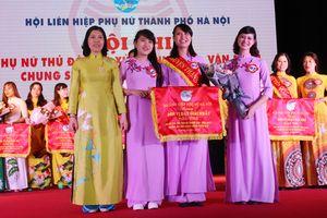 Phụ nữ huyện Thanh Trì giành ngôi vị Quán quân hội thi ứng xử đẹp
