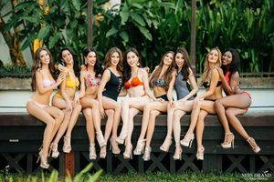 Phương Nga nóng bỏng trong ảnh bikini đặc biệt của Hoa hậu Hòa bình Quốc tế 2018