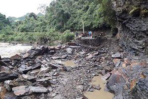 Mưa lớn gây thiệt hại nặng tại Bắc Kạn, vài nơi giao thông bị chia cắt