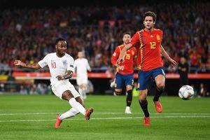 Sterling rực sáng, đội tuyển Anh thắng kịch tính Tây Ban Nha 3-2