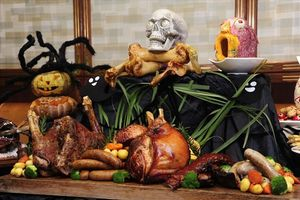 Độc đáo tiệc halloween tại khách sạn Windsor plaza