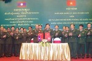 Hội đàm phối hợp quản lý, bảo vệ biên giới hai nước Việt Nam - Lào