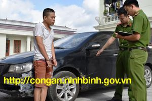Trộm xế hộp từ Tiền Giang 'phóng' ra Ninh Bình trộm cắp tiếp