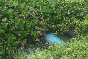 Mất tích 3 ngày, học sinh chết gần cống thoát nước