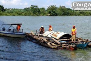 Phức tạp tình trạng lâm tặc vận chuyển gỗ bằng đường sông