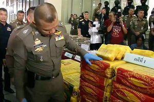 Thái Lan 'cất lưới' 2 mẻ ma túy đá khủng 71 triệu USD