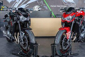 Xe môtô phân khối lớn Kawasaki Z900 'dính lỗi' tại Việt Nam