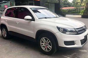 Cận cảnh Volkwagen Tiguan giá chỉ hơn 600 triệu tại Hà Nội