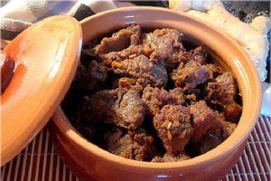 Món ngon mỗi ngày: Thịt bò kho cho ngày đông lạnh