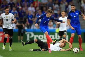 Pháp - Đức (1 giờ 45 ngày 17.10): Sức mạnh nhà vô địch