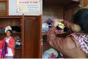 Tủ áo quần cho bệnh nhân nghèo