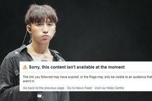 Cộng đồng mạng xôn xao khi biết tin Sơn Tùng MTP bị khóa Facebook