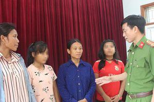 Giải cứu 2 nữ sinh Nghệ An khỏi bọn buôn người