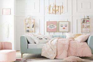 Ý tưởng trang trí phòng riêng của bạn gái đẹp xuất sắc, ai nhìn cũng mê mẩn
