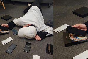 Sếp Xiaomi khoe ảnh trào lưu 'ngã sấp mặt' bất ngờ để lộ Mi MIX 3