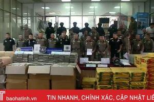 Thái Lan thu giữ lượng ma túy đá trị giá 71 triệu USD