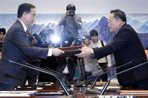 Truyền thông Triều Tiên đưa tin về hội đàm cấp cao với Hàn Quốc