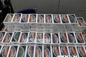 Phát hiện lô hàng gần 1.200 iPhone không khai hàng hóa nhập khẩu