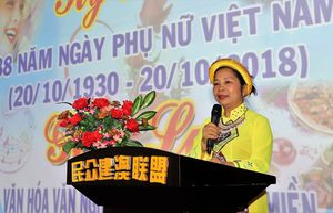 Người Việt tại Macau mít tinh mừng ngày Phụ nữ Việt Nam