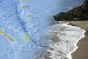Động đất mạnh liên tiếp ngoài khơi vùng lãnh thổ Pháp ở Thái Bình Dương