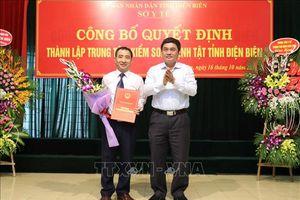 Hợp nhất 7 đơn vị thành Trung tâm Kiểm soát bệnh tật tỉnh Điện Biên
