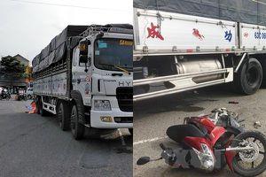 Tiền Giang: Ô tô tải cán qua, 2 phụ nữ tử vong tại chỗ