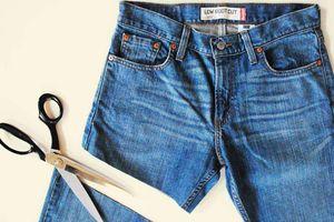 Clip: Mẹo hay 'biến' quần jean cũ thành mới vừa đơn giản lại hợp mốt
