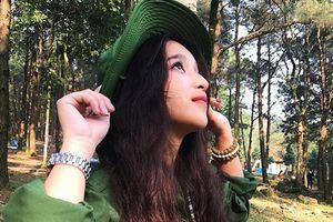 Xuất hiện 'hot girl quân sự' sở hữu góc nghiêng đẹp 'ảo diệu' khiến ai nhìn cũng thích mê
