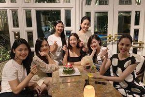 Loạt ảnh hoa hậu, á hậu chúc mừng sinh nhật Đỗ Mỹ Linh, đập tan nghi ngờ 'bằng măt không bằng lòng' trong showbiz