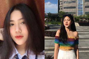 Bức ảnh góc nghiêng thần thánh khoe khuôn mặt và vóc dáng ấn tượng khiến nữ sinh Sài Gòn bỗng chốc 'nổi như cồn'