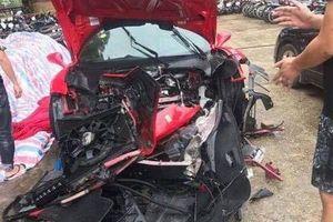 Lộ danh tính tài xế điều khiển siêu xe Ferrari gặp nạn trên cao tốc Hà Nội - Lào Cai