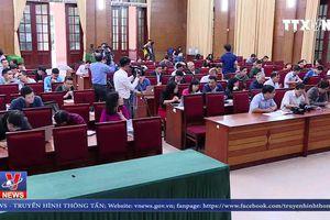 Huyện Sóc Sơn (Hà Nội) thông tin về xử lý vi phạm trên đất lâm nghiệp
