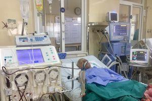 Bệnh viện K cứu sống bệnh nhân liệt cơ hô hấp bằng kỹ thuật thay huyết tương