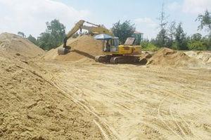 Đà Nẵng: Hàng loạt bãi tập kết cát trái phép, gây ô nhiễm môi trường trên địa bàn quận Ngũ Hành Sơn