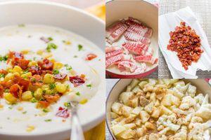 Ngày giao mùa, chị em học ngay cách làm súp kem hoa lơ thơm ngon để bồi bổ sức khỏe cho cả nhà