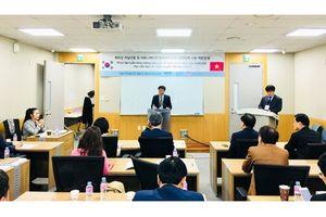 Trao đổi nghiệp vụ truyền thông chính sách tại Đại học Hàn Quốc