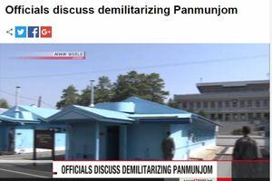 Hai miền Triều Tiên và Bộ tư lệnh Liên hợp quốc thảo luận về giải giáp biên giới liên Triều