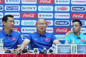 HLV Park Hang Seo tuyên bố quyết tâm đứng đầu bảng tại AFF Cup 2018