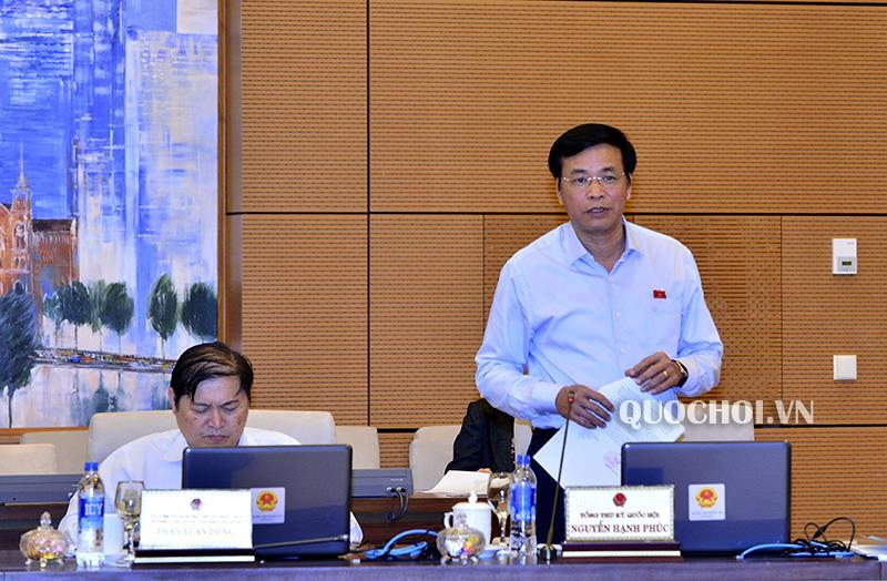 Ủy ban Thường vụ Quốc hội cho ý kiến một số vấn đề về việc chuẩn bị kỳ họp thứ 6, Quốc hội khóa xiv