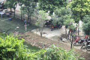 Nam Từ Liêm: Ai chịu trách nhiệm khi để hồ Ngòi Cầu Trại bị lấn chiếm