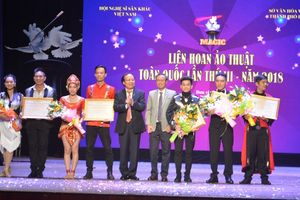 5 ảo thuật gia đoạt huy chương vàng tại Liên hoan Ảo thuật toàn quốc lần 3