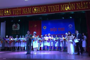 Bệnh viện 198 tổ chức hội thi Điều dưỡng viên CAND giỏi – thanh lịch