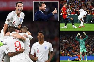 Toàn cảnh chiến thắng 'căng như dây đàn' của ĐT Anh trước Tây Ban Nha