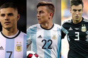 Đội hình của Argentina ở trận chiến với Brazil: Dybala thế chỗ Messi