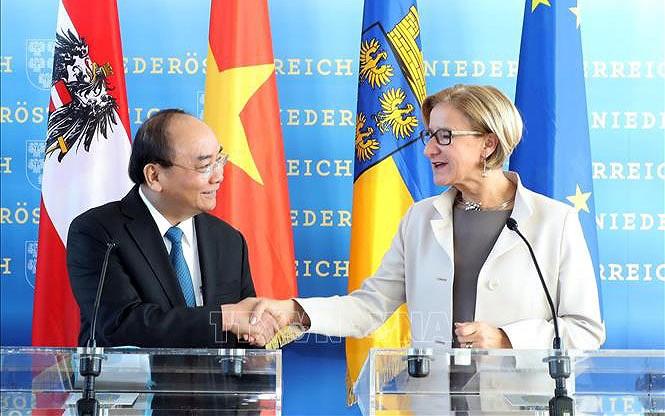 Thủ tướng Nguyễn Xuân Phúc thăm bang Hạ Áo và gặp Thủ hiến bang