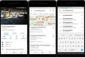 Google Maps bổ sung tính năng tìm kiếm trạm sạc dành cho xe điện