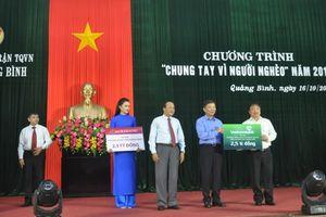 Hơn 21 tỷ đồng ủng hộ Quỹ 'Vì người nghèo' tỉnh Quảng Bình