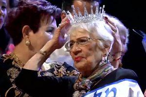 Cụ bà 93 tuổi giành vương miện Hoa hậu ở Israel