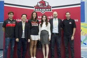 Thang Long Warriors ra mắt trung tâm đào tạo bóng rổ tại Hà Nội