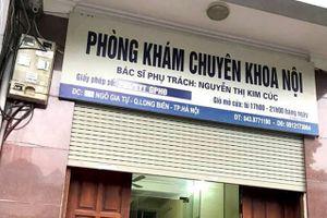 Hà Nội: Đình chỉ hoạt động phòng khám khiến cháu bé 22 tháng tử vong